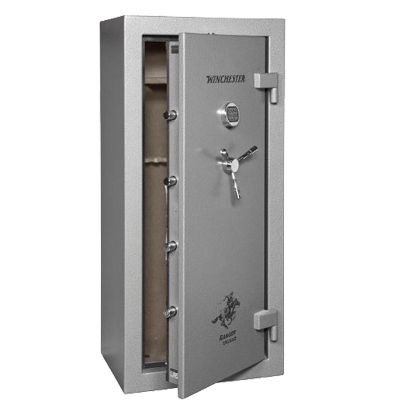 Winchester Ranger Deluxe 1 Hour Fire Safe - 24 Rifle Safe - R19 - Grey -