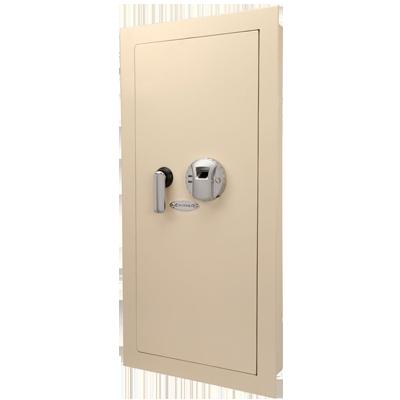 Barska Biometric in Wall gun Safe, Large, Beige, Left_Right Hand