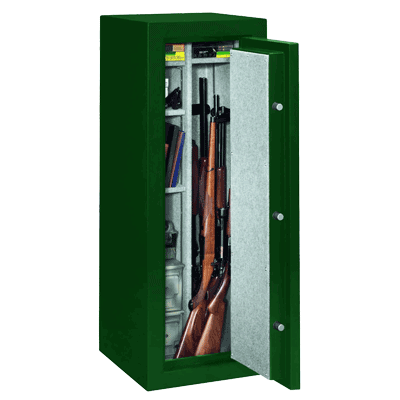 Stack-On-FS-14-MG-C-14-Gun-Fire-Resistant-Safe-with-Combination-Lock,-Matte-Hunter-Green