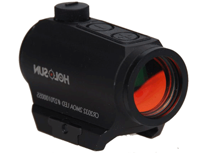 HOLOSUN-HS403A-Micro-Red-Dot-Sight-(2-MOA)-with-AR-Riser