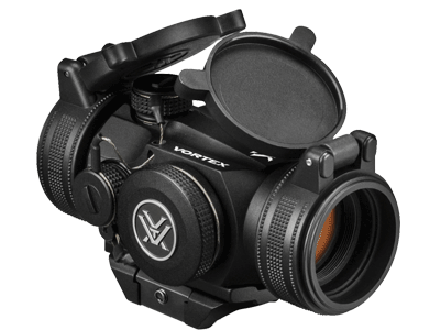 Vortex-Optics-Sparc-II-2-MOA-Red-Dot-Sight-(SPC-402)-and-FREE-Vortex-Hat