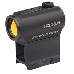 HOLOSUN HS403A Micro Red Dot Sight (2 MOA) with AR Riser