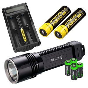 NITECORE P36 2000 Lumen CREE MT-G2 neutral white LED tactical flashlight