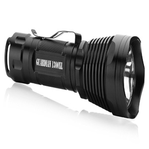 Supernova Guardian 1300 Professional Series Ultra Bright Rechargeable Tactical LED Flashlight