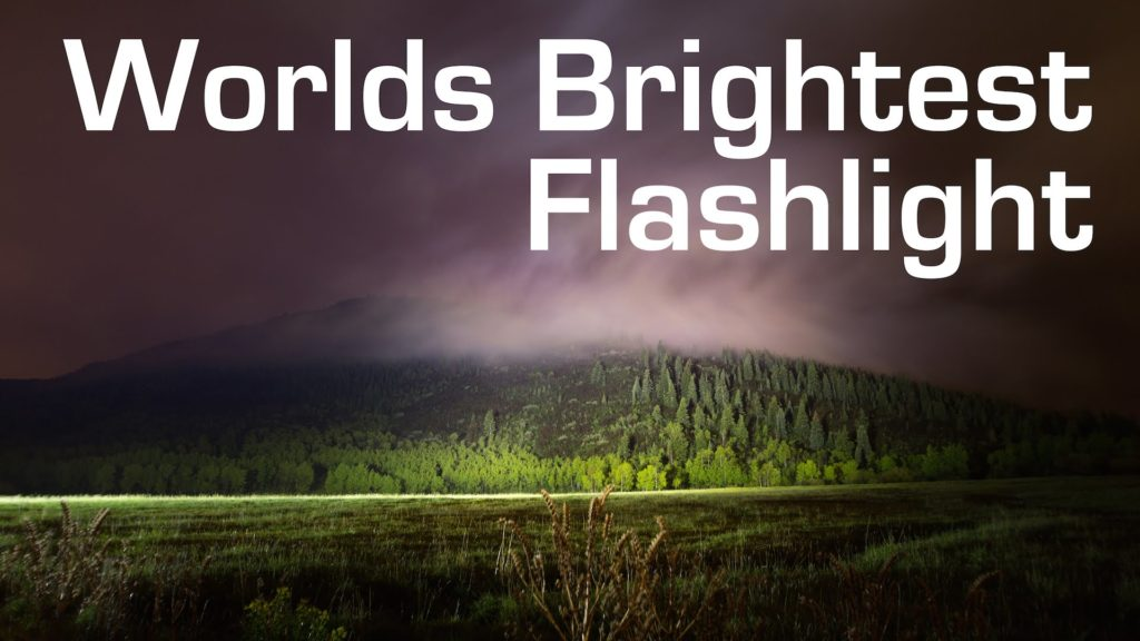 brightest tactical flashlights