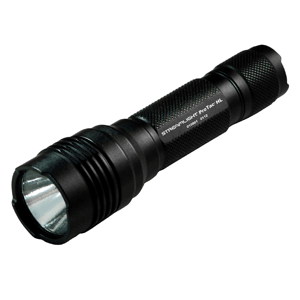 Streamlight 88040 ProTac HL High Lumen Professional Tactical Light with white LED, Black