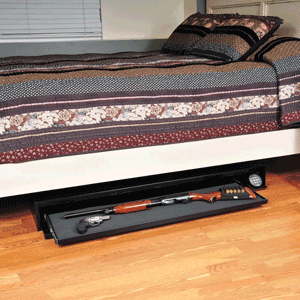 best under bed gun safes