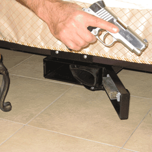 under bed gun safes