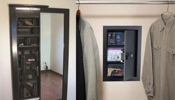 6 In Wall Gun Safe Reviews Reviews Of Hidden Safes
