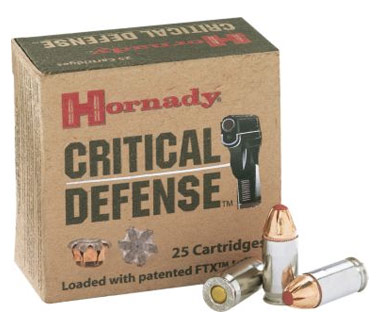 Hornady Critical Defense .357 Magnum Handgun Ammo