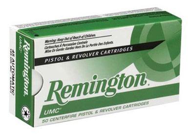 Remington UMC .38 Special Pistol Ammunition