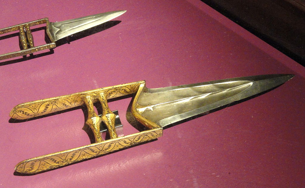 katar push dagger