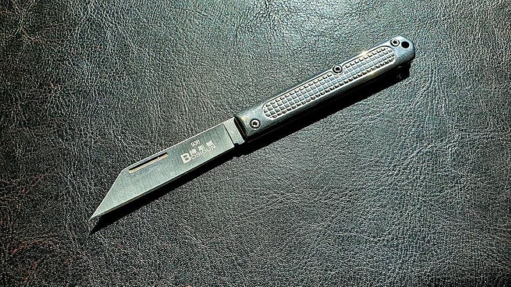 japanese pocket knife steel knife